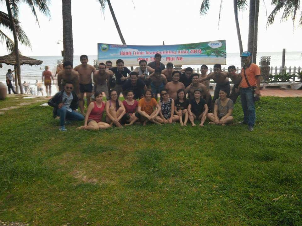 Teambuilding biển